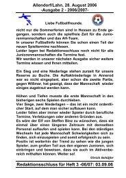 Heft 02 - TSV 05 Allendorf-Lahn eV