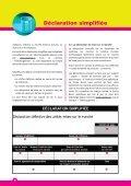 Déclaration simplifiée - valorlux.lu - Page 4