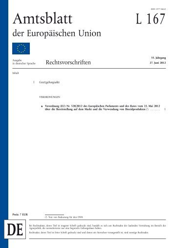 Verordnung (EU) Nr. 528/2012 - EUR-Lex