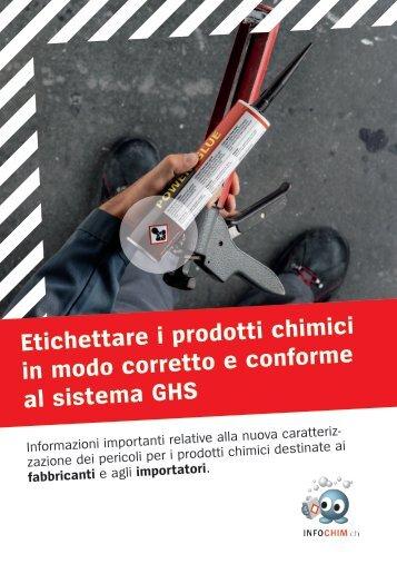 Etichettare i prodotti chimici in modo corretto e conforme ... - Cheminfo