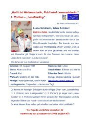 Leseübungen NEU - HS-Langschlag