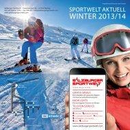 Salzburger Sportwelt - Winter 2012/13