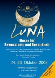 """""""LUNA"""" Messe für Bewusst Sein und Gesundheit - Katze & Du"""
