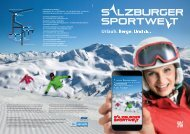 Salzburger Sportwelt - Winter 2013/14