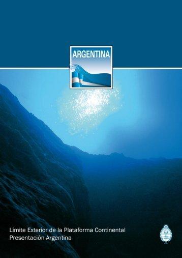 el límite exterior de la plataforma continental argentina - Nuestromar