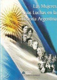 Las Mujeres y sus Luchas en la Historia Argentina. AA.VV ...