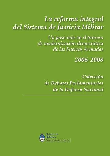 2006-2008 - Ministerio de Defensa