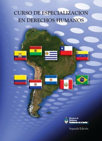 curso de especialización en derechos humanos - Armada Argentina