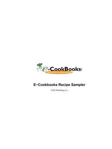 E-Cookbooks Recipe Sampler - Abbys Good Stuff