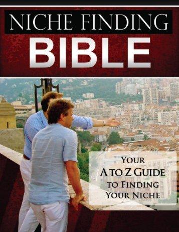 Niche Bible - Jet Set Life