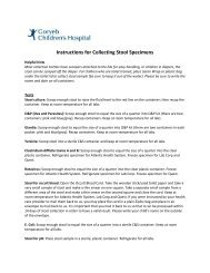 Instructions for Collecting Stool Specimens - Atlantic Health System