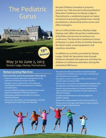 The Pediatric Gurus - Atlantic Health System