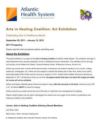 Arts in Healing Coalition: Art Exhibition - Atlantic Health System
