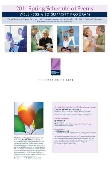 WEllnESS and Support program - Atlantic Health System