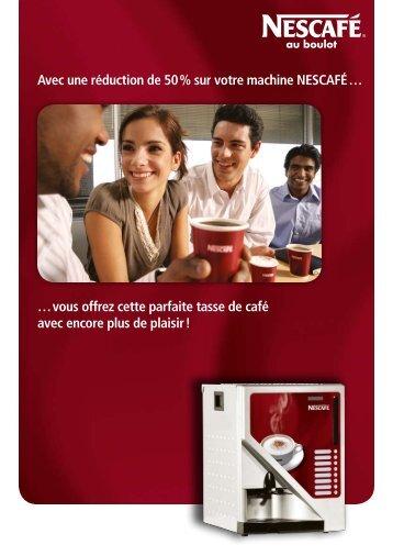 Avec une réduction de 50 % sur votre machine ... - Inter-Confort