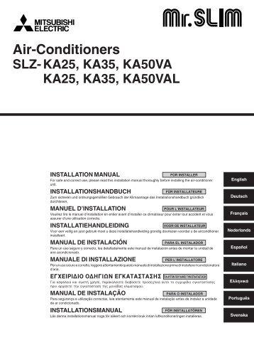Guideline pac if 012 b e mitsubishi electric for Pac mitsubishi air eau