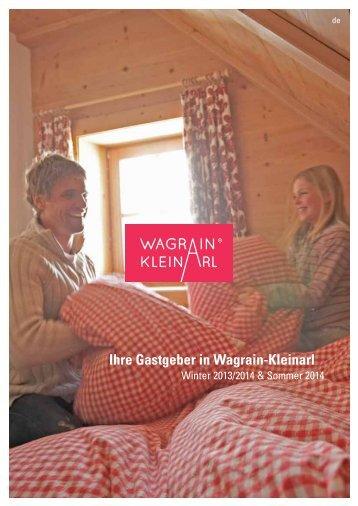 Wagrain-Kleinarl - Winter 2013/2014 & Sommer 2014