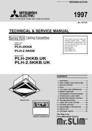 PLH-2KKB.UK PLH-2.5KKB.UK - Mitsubishi Electric