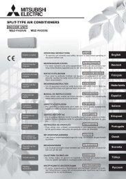 Drift & Skötsel SV (2790 Kb) - Mitsubishi Electric