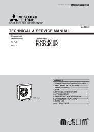 PU-3VJC.UK PU-3YJC.UK - Mitsubishi Electric