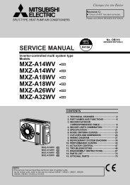 mxz-a14wv - Mitsubishi Electric