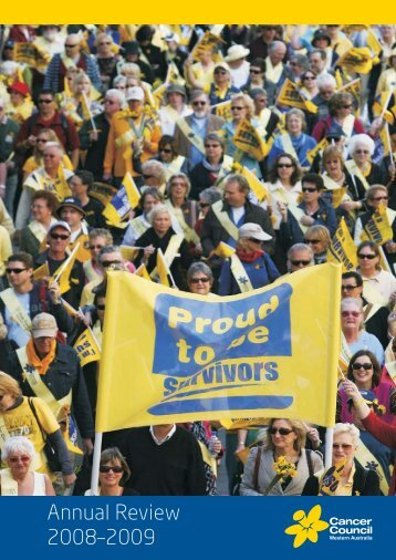 Cancer Council WA Annual Review 2008-2009