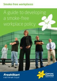A guide to developing a smoke-free workplace policy - Healthier ...