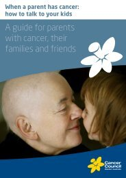 A Guide For Parents With cancer, Their Families - Cancer Council ...