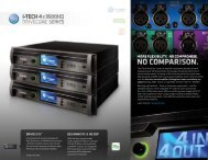 Quick Reference Guide - Crown Audio, Inc.