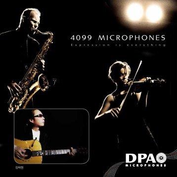 4099 MICROPHONES - DPA Microphones