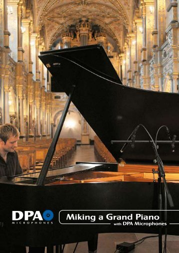 Miking a Grand Piano with DPA Microphones (PDF