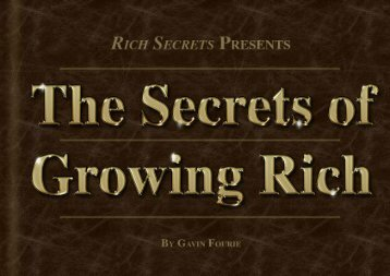 The secrets of growing rich - Fleet Street Publications