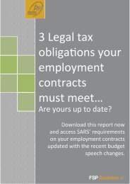 3 Legal tax obligations your employment contracts must meet…