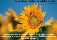 Natural Alternatives to painful arthritis - Fleet Street Publications