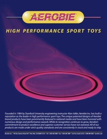 Aerobie Catalog 2011