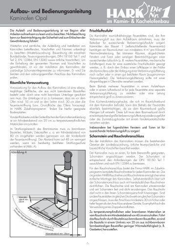 dauerbrandofen hark 34 gt aufbau und bedienungsanleitung. Black Bedroom Furniture Sets. Home Design Ideas