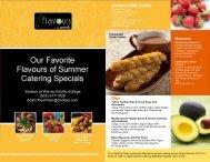 Outdoor BBQ Buffet Dessert Dips Sodexo at Warner Pacific College ...