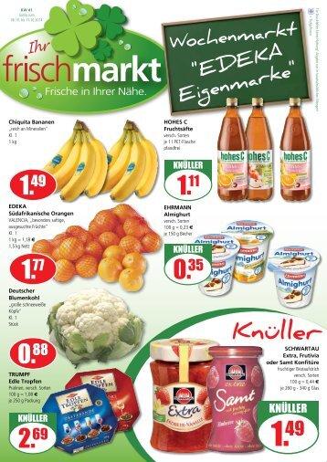 Frischmarkt KW 41
