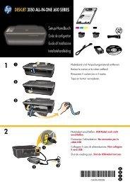 DESKJET 3050 ALL-IN-ONE J610 SERIES - Hewlett Packard
