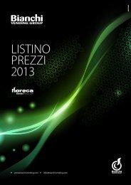 LISTINO PREZZI 2013 - Bianchi Vending Group