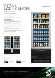 VISTA L + MODULO MASTER - Bianchi Vending Group