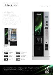 LEI 600 pp - Bianchi Vending Group