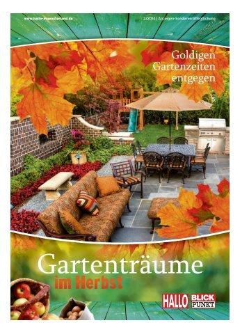 Gartenträume im Herbst 2014