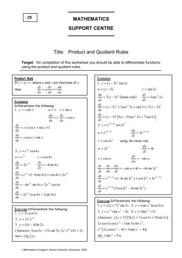 math worksheet : 100  product and quotient rule worksheet with answers  : Quotient Rule Worksheet