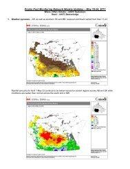 Prairie Pest Monitoring Network Weekly Updates – May 18-24, 2011