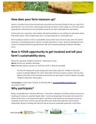 How does your farm measure up? - Manitoba Canola Growers ...
