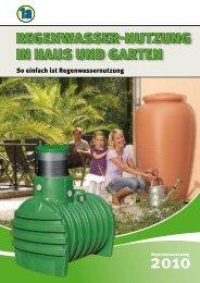 F.S. Baufachmarkt Regenwasser Katalog Garten