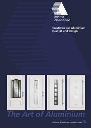 The Art of Aluminium - F.S. Baufachmarkt GmbH