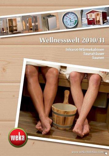 Wellnesswelt 2010/11 - F.S. Baufachmarkt GmbH