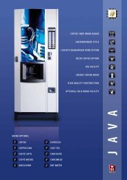 Java Hot Beverage Machine - Vending Machines